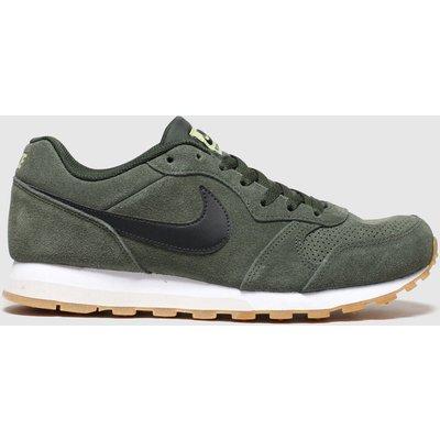 Nike Khaki Md Runner 2 Trainers