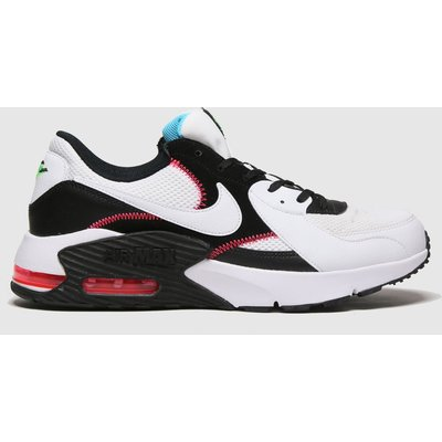Nike White & Black Air Max Excee Trainers