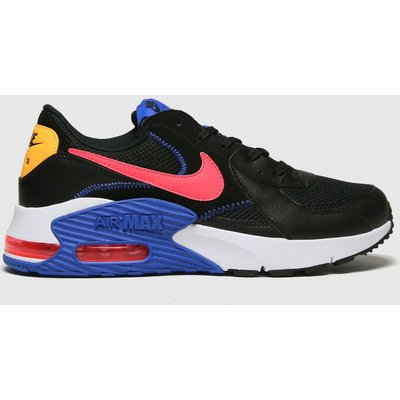 Nike Black & Red Air Max Excee Trainers
