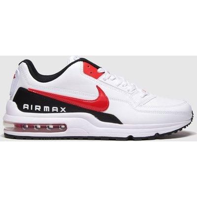 Nike White & Red Air Max Ltd 3 Trainers