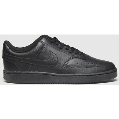Nike Black Court Vision Low Trainers