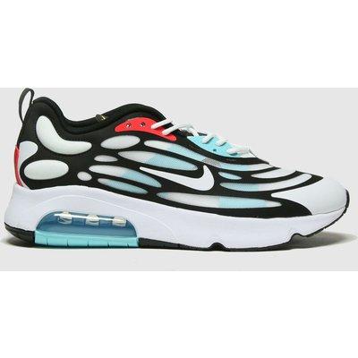 Nike White & Pl Blue Air Max Exosense Trainers