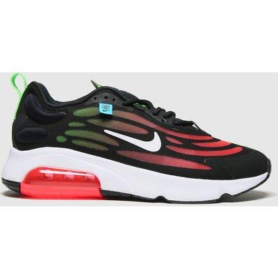 Nike Black & Red Air Max Exosense Trainers