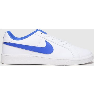 Nike White & Blue Court Royale Trainers