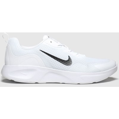 Nike White & Black Wearallday Trainers