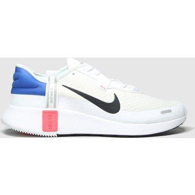 Nike White & Black Reposto Trainers