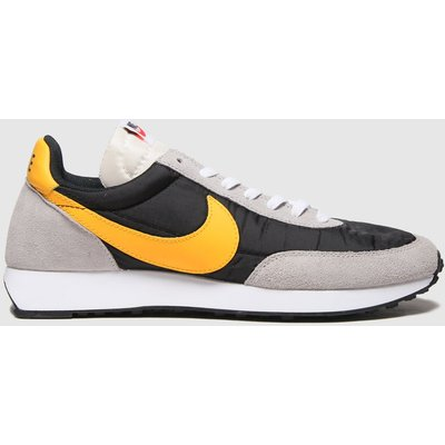 Nike Black & Orange Tailwind 79 Trainers