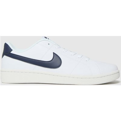 Nike White & Black Court Royale 2 Trainers