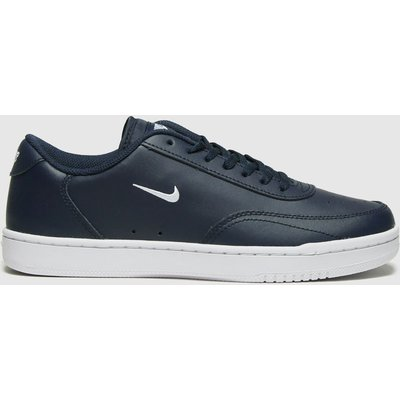 Nike Navy Court Vintage Trainers