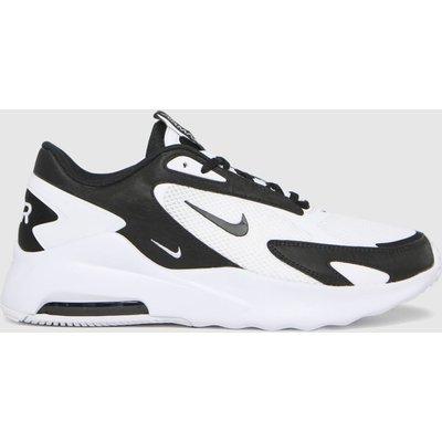 Nike White & Black Air Max Bolt Trainers