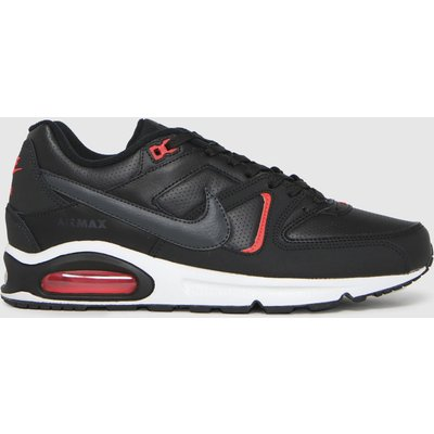 Nike Black Air Max Command Trainers