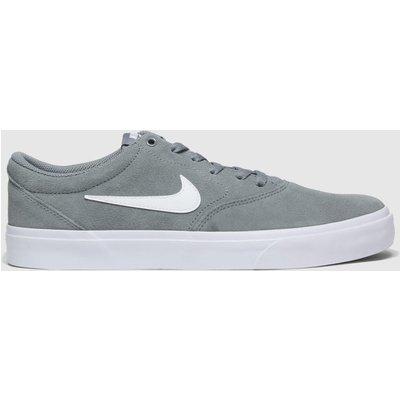 Nike SB Grey Sb Charge Trainers