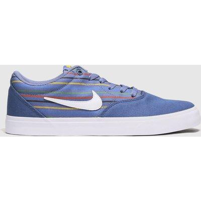 Nike SB Blue Sb Charge Trainers