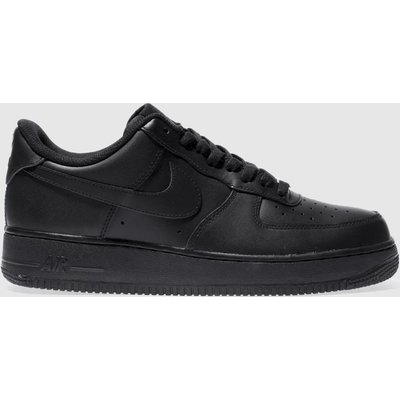Nike Black Air Force 1 07 Trainers