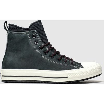 Converse Black All Star Wp Boot Hi Trainers