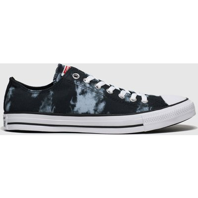 Converse Black & Grey Cons Ctas Back To Shore Ox Trainers