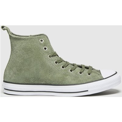 Converse Khaki Mountain Hi Trainers