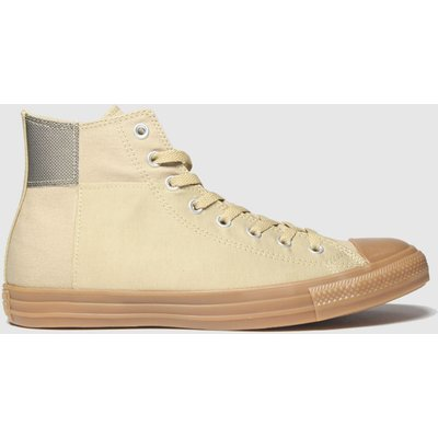 Converse Beige & Brown Hi Trainers