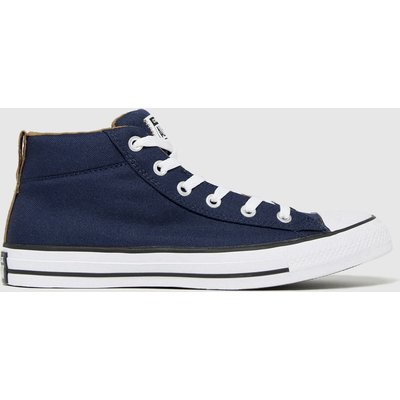 Converse Navy Street Mid Trainers