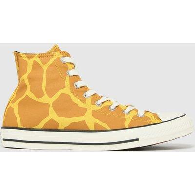 Converse Multi Giraffe Hi Trainers