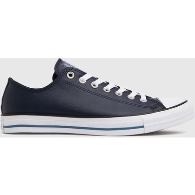 Converse Navy & White Ox Trainers