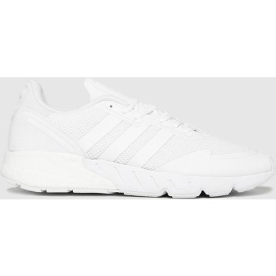 Adidas White Zx 1k Boost Trainers
