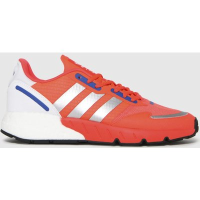 Adidas Red Zx 1k Boost Trainers
