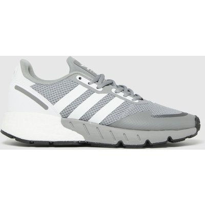 Adidas Grey Zx 1k Boost Trainers