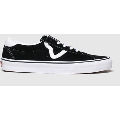 Vans Black & White Sport Trainers