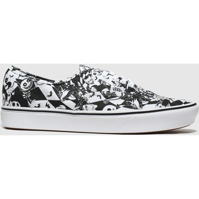 Vans Black & White Comycush Authentic X Tnbc Trainers