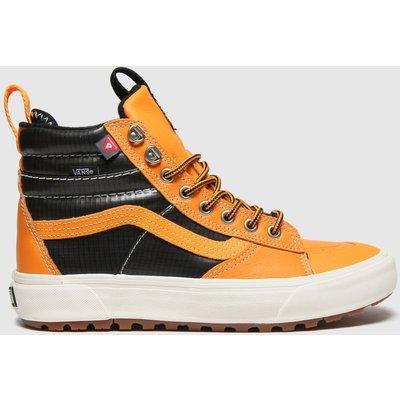 Vans Black & Orange Sk8-hi Mte 2.0 Dx Trainers