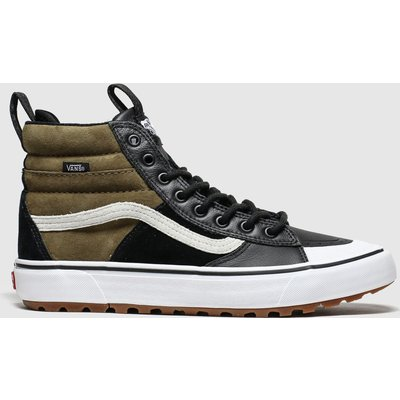 Vans Black & Brown Sk8-hi Mte 2.0 Trainers