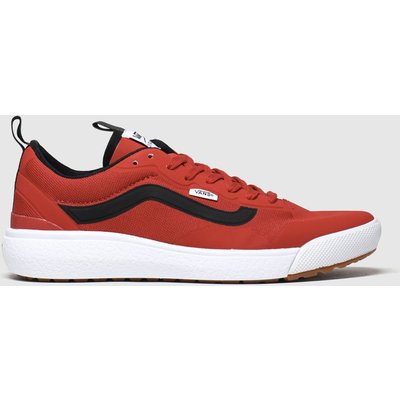Vans Red Ultrarange Exo Trainers