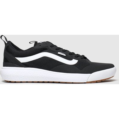 Vans Black & White Ultrarange Exo Trainers