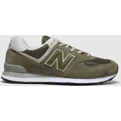 New Balance Khaki 574 Trainers