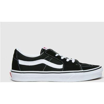 Vans Black & White Sk8 Low Trainers