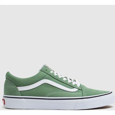 Vans Green Old Skool Trainers