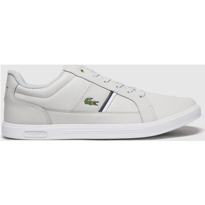 Lacoste Light Grey Europa Trainers