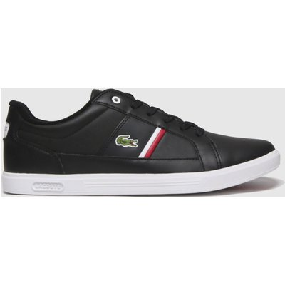 Lacoste Black Europa Trainers