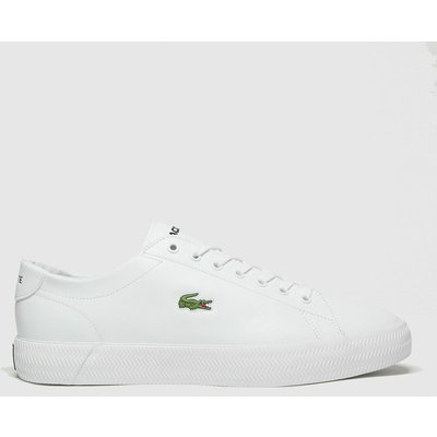 Lacoste White Gripshot Trainers