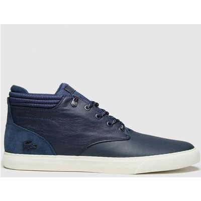 Lacoste Navy Esparre Chukka Trainers