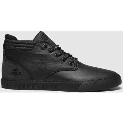 Lacoste Black Esparre Chukka Trainers