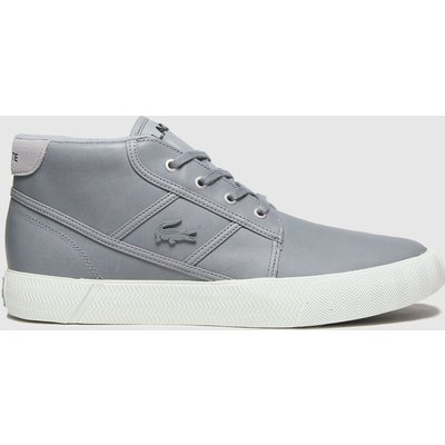 Lacoste Grey Gripshot Chukka Trainers