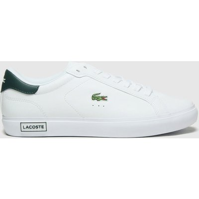 Lacoste White Powercourt Trainers