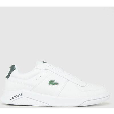 Lacoste White Game Advance Trainers