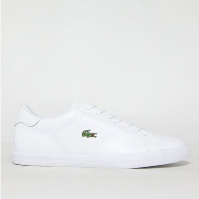Lacoste White Lerond Plus Trainers
