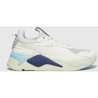 PUMA White & Grey Rs-x Master Trainers