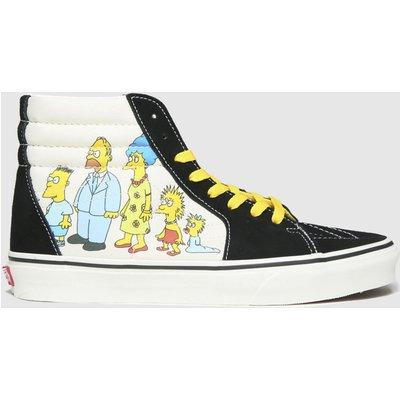 Vans Multi Sk8-hi The Simpsons Trainers