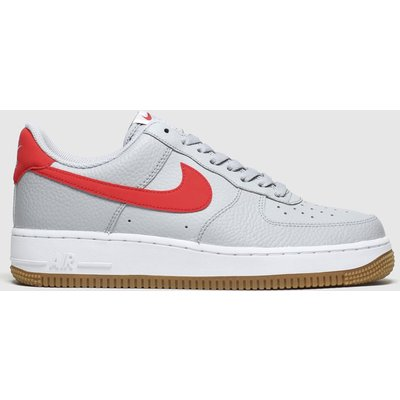 Nike Grey Air Force 1 Trainers