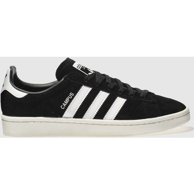 Adidas Black & White Campus Trainers